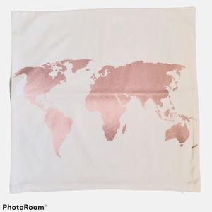 """💜2/$24💜 18"""" square microsuede pink pillow cover"""